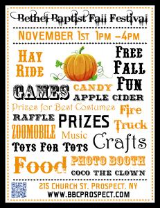 Fall Fest Flyer 2014