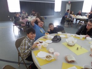 We enjoyed having the Herndon Family with us for our January 2014 Souper Luncheon!